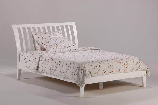 Night and Day Bedroom Set Twin / White Nutmeg 6 Piece Platform Bedroom Set - Available in 6 Colours