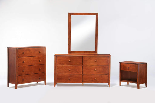 Night and Day Cherry Zest 4 Piece Casegood Set