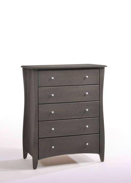 Night and Day Drawer Chest Stonewash Clove Chest - Available in 6 Colours