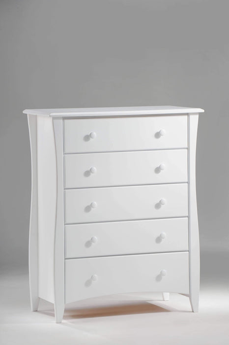 Night and Day Drawer Chest White Clove Chest - Available in 6 Colours