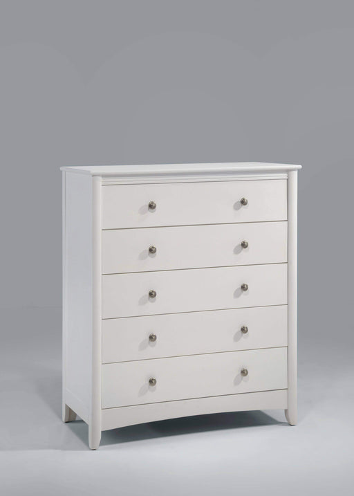 Night and Day Drawer Chest White Secret Chest - Available in 5 Colours