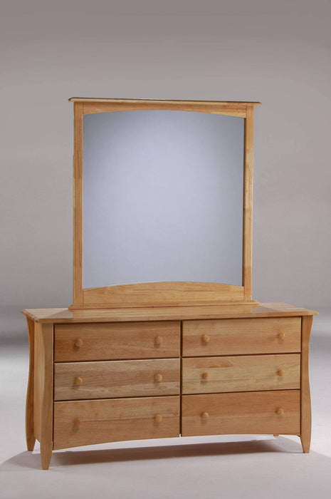 Night and Day Dresser Natural Clove Dresser and Mirror - Available in 6 Colours