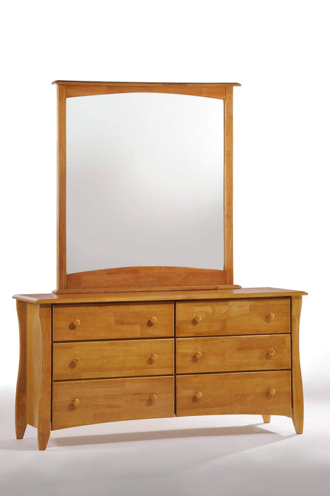 Night and Day Dresser Oak Clove Dresser and Mirror - Available in 6 Colours