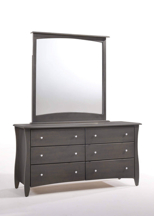 Night and Day Dresser Stonewash Clove Dresser and Mirror - Available in 6 Colours