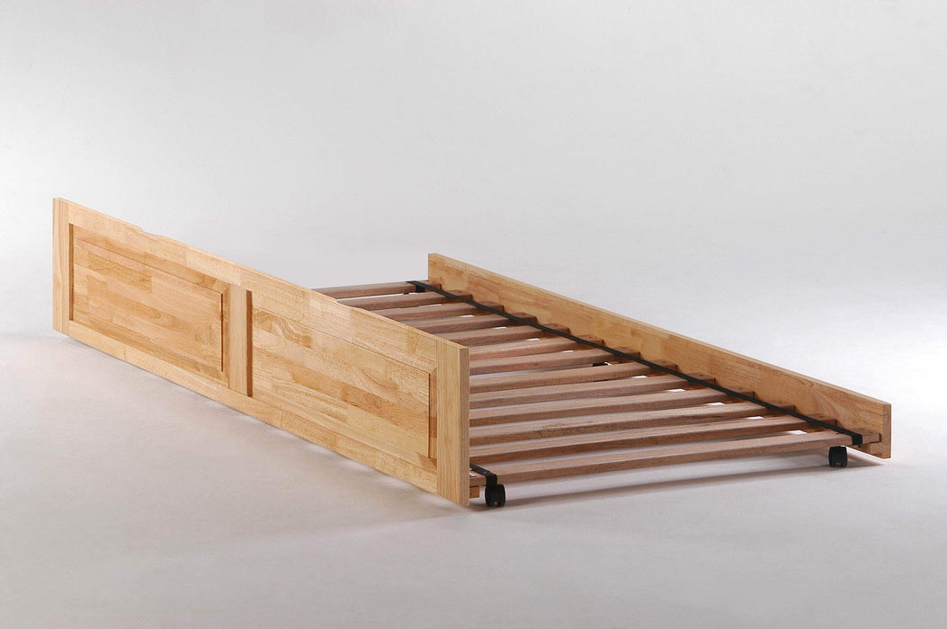 Night and Day Natural Trundle Bed For Spices Bunk Beds - 5 Colours