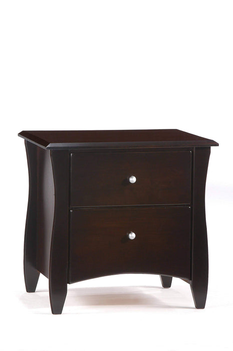 Night and Day Nightstand Chocolate Clove Nightstand - Available in 6 Colours