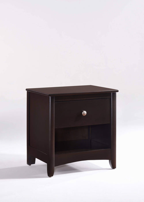 Night and Day Nightstand Chocolate Secret Nightstand - Available in 5 Colours