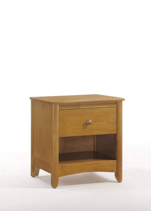 Night and Day Nightstand Oak Secret Nightstand - Available in 5 Colours