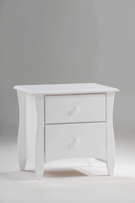 Night and Day Nightstand White Clove Nightstand - Available in 6 Colours