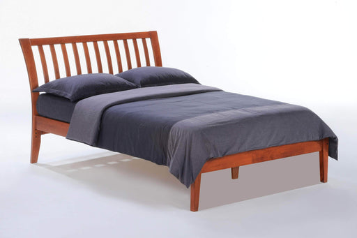 Night and Day Platform Beds Full / Cherry Nutmeg Platform Bed - Available in 6 Colours