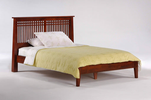 Night and Day Platform Beds Full / Cherry Solstice Platform Bed -  Available in 5 Colours