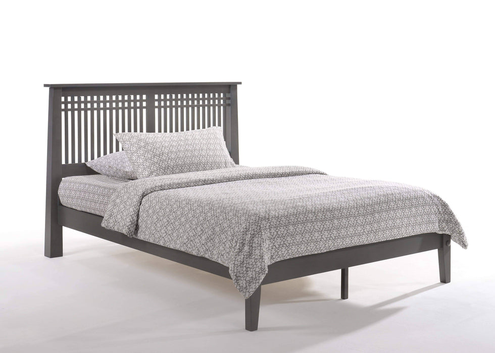 Night and Day Platform Beds Full / Stonewash Solstice Platform Bed -  Available in 5 Colours