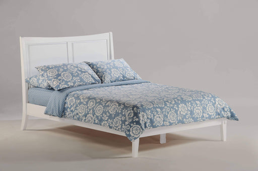 Night and Day Platform Beds Full / White Saffron Platform Bed - Available in 4 Colours