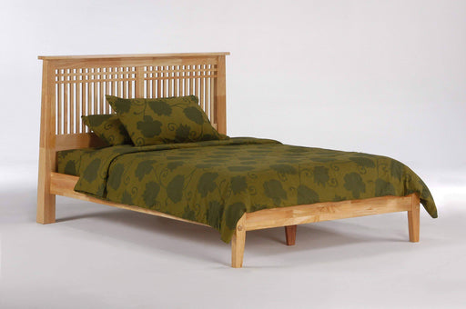 Night and Day Platform Beds Queen / Natural Solstice Platform Bed -  Available in 5 Colours