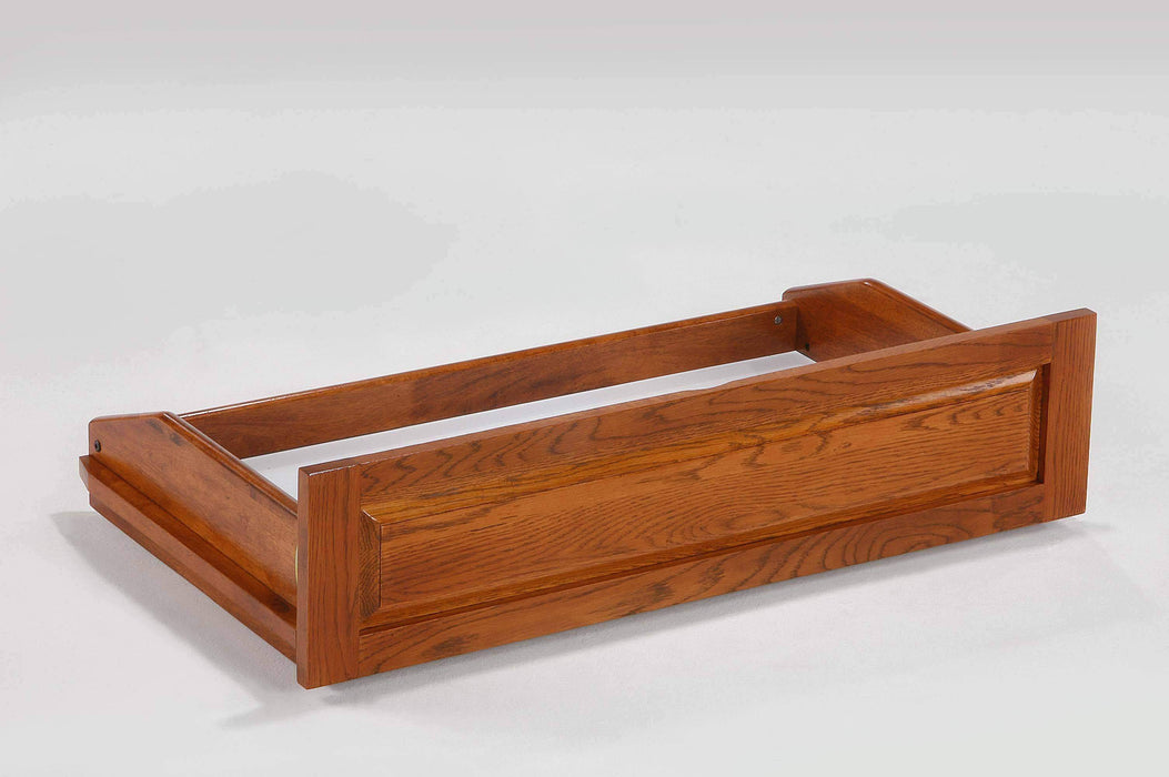 Night and Day Underbed Storage Drawers Queen/King / Oak Underbed Storage Drawers - Available in 6 Colours
