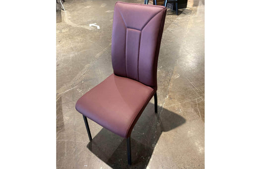 Corcoran Chair Burgundy Leather Chairs (Set of 2) - Available in 4 Colours