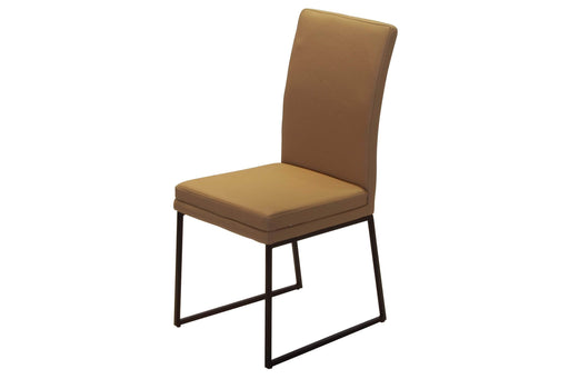 Corcoran Chair Moka Moka Leather Chairs (Set of 2)
