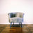 Corcoran Sofa Chair Gray Accent Sofa Chair Made In Velvet
