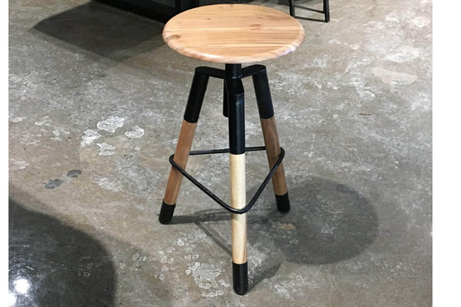 Corcoran Stool Acacia Round Stool Made Of Acacia Wood