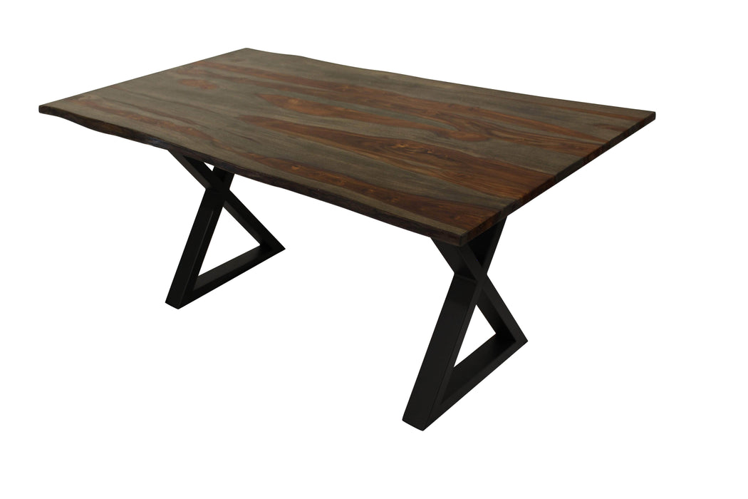 "Corcoran Table 67"" Live Edge Acacia Table - Available with 4 Wood Types"