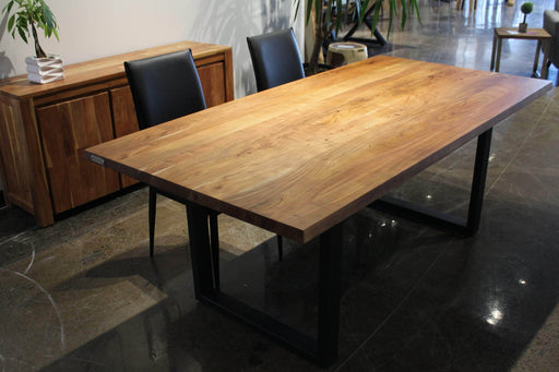 Corcoran Table Acacia 80'' Dining table - Available with 4 Leg Styles