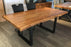 "Pending - Corcoran Table Live Edge Acacia Table L 72"" - Available with 6 Leg Styles"