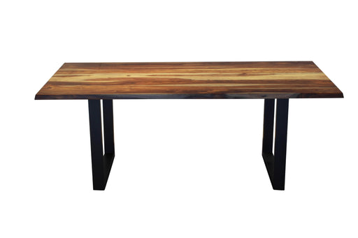 Corcoran Table Sheesham 80'' Dining Table - Available with 4 Leg Styles