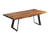 "Pending - Corcoran Table Victor Legs Live Edge Acacia Table L 72"" - Available with 6 Leg Styles"