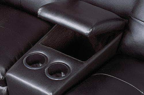 Pending - IFDC IF-9075 Black Leather Theater Seating Recliner