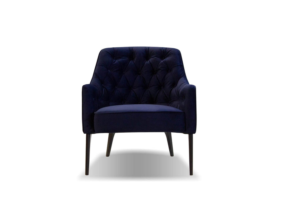 Mobital Arm Chair Ellington Arm Chair With Black Wood Legs - Multiple Options Available