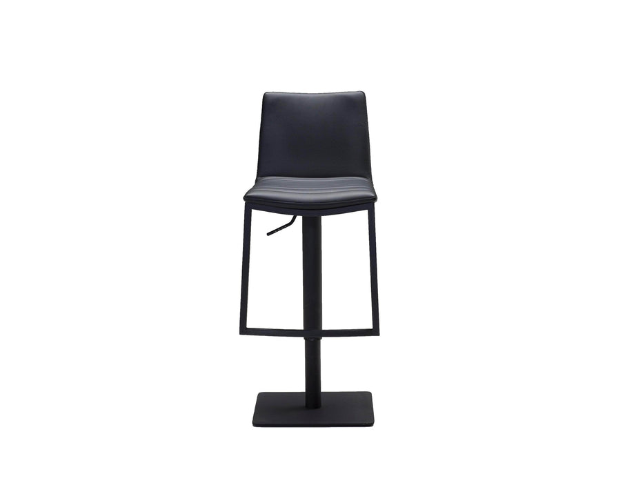 Mobital Bar Stool Black Frame Raven Hydraulic Leatherette Bar Stool - Available in 2 Colours