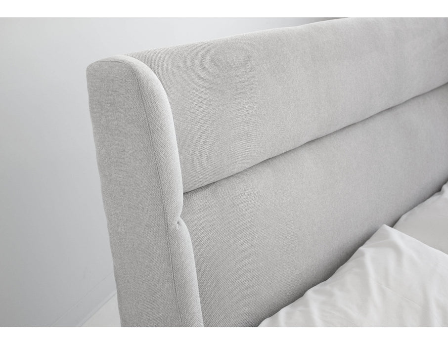 Pending - Mobital Bed Cove Bed Heather Grey Chenille - Available in 2 Sizes