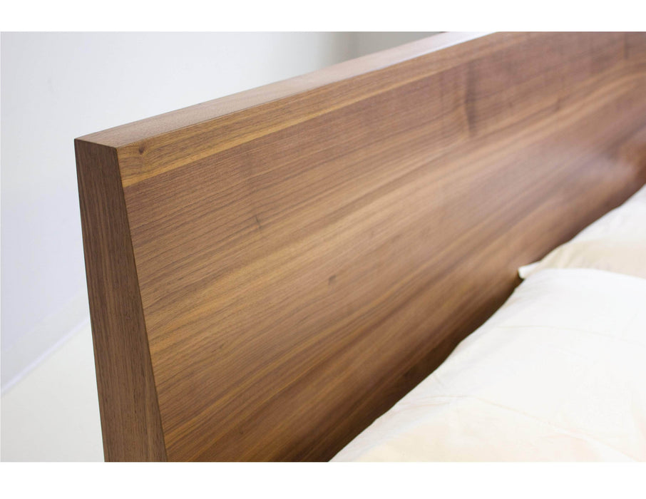 Mobital Bed Della Bed in Natural Walnut - Available in 2 Sizes