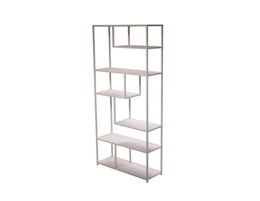 Mobital Bookshelf White Booker Bookshelf Powder Coated Metal - Available in 2 Colours