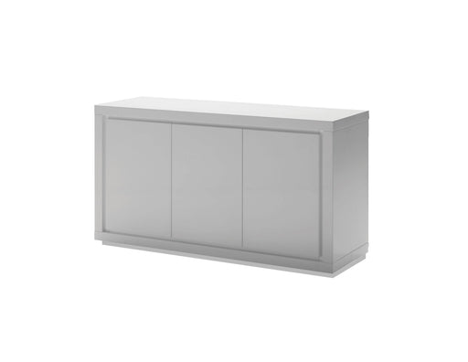 Mobital Maze 3-Door Buffet in High Gloss White