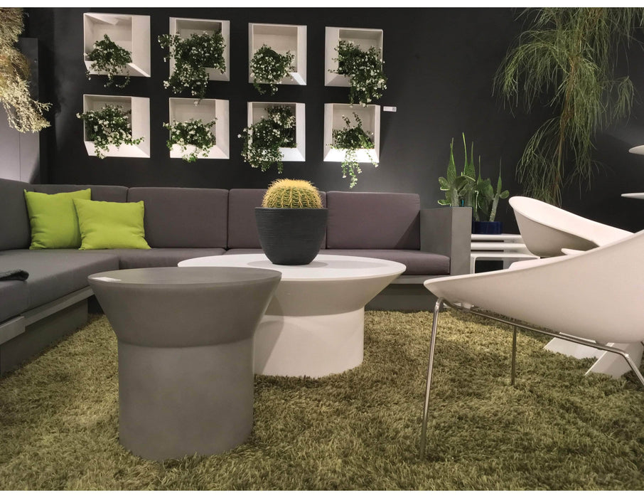"Mobital Coffee Table Boracay 36"" Diameter Round Coffee Table - Available in 2 Colours"