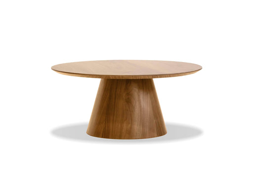 Mobital Coffee Table Natural Walnut Tower Coffee Table Natural Walnut
