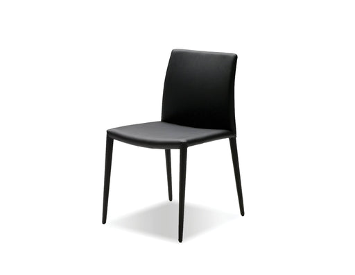 Mobital Dining Chair Black Zeno Full Leatherette Wrap Dining Chair Set Of 2 - Available in 3 Colours