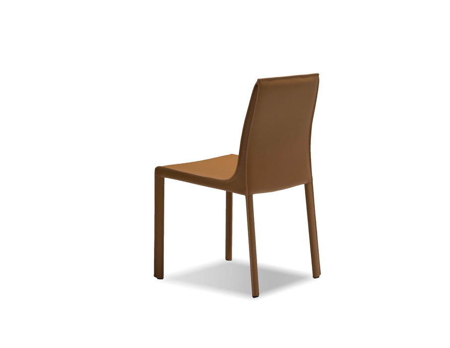 Mobital Dining Chair Fleur Dining Chair Full Leather Wrap Set Of 2 - Available in 4 Colours
