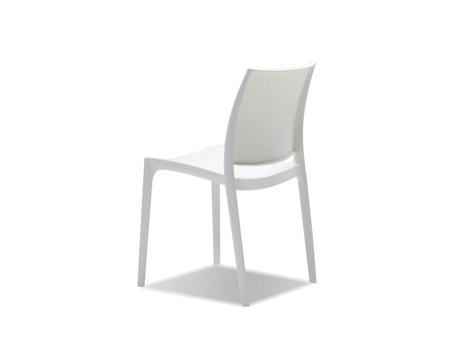 Mobital Dining Chair Vata Polypropylene Dining Chair Set Of 4 - Available in 2 Colours