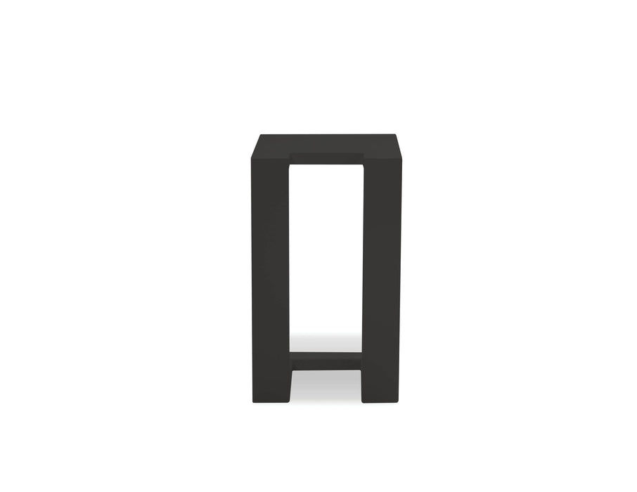 Mobital End Table Black Ambleside End Table with Aluminum Frame - Available in 3 Colours