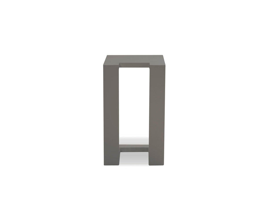 Mobital End Table Grey Ambleside End Table with Aluminum Frame - Available in 3 Colours