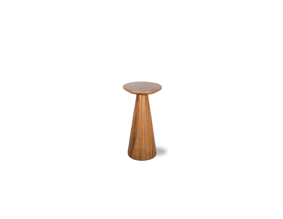 "Mobital End Table Natural Walnut Tower 16"" Small End Table - Available in 2 Colours"