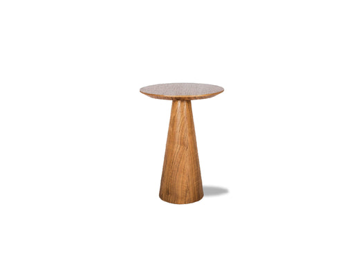 "Mobital End Table Natural Walnut Tower 20"" Medium End Table - Available in 2 Colours"