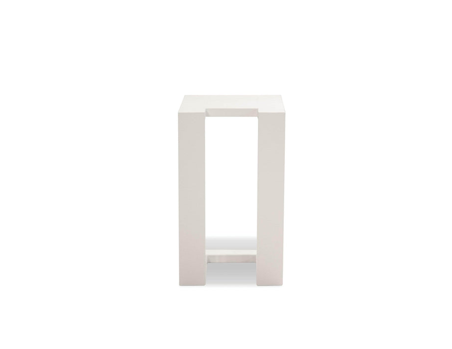 Mobital End Table White Ambleside End Table with Aluminum Frame - Available in 3 Colours