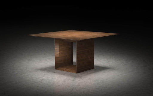 "Pending - Modloft Dining Tables Walnut Greenwich 55"" Dining Table - Available in 2 Colours"