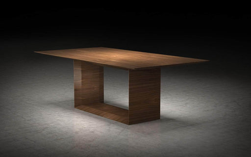 "Pending - Modloft Dining Tables Walnut Greenwich 87"" Dining Table - Available in 2 Colours"