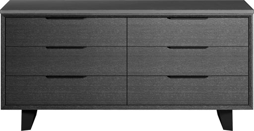 Pending - Modloft Dressers Amsterdam Dresser in Gray Oak and Gray Concrete