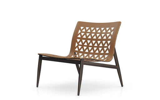 Pending - Modloft Lounge Chairs Caramel Leather Elmstead Lounge Chair - Available in 2 Colours