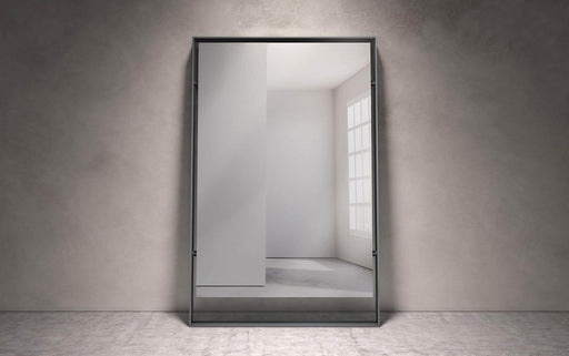 "Pending - Modloft Mirrors Hackney 73"" Mirror in Graphite Steel"